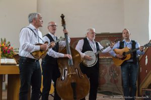 Gottesdienst mit der Oathtown Bluegrass Band